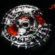 Luftfilterdeckel Harley Davidson mit Custom Painting von Guns´n´Roses auf Blattsilber