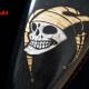 Harley Davidson Sportster 48 Tank Wood Black Custom Paint Jester Airbrush Black Goldleaf Schandmaul