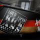 Custom Paint Helm Cafe Racer schwarz mit Airbrush im Retro Used Look