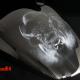 Big Black Buffalo Bull Custom Paint Airbrush Kawasaki VN 2000 Tank Lackierung