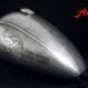Custom Paint Harley Davidson Breakout Lackierung Viking with Odin, Silver leaf, celtic knot, Airbrush Tank, Airwitch