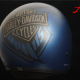 Custom Paint Helm eagle 115 anniversary Harley Davidson blue - Nachlackierung
