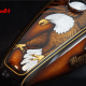 Custom Paint Harley Davidson Sportster Forty Eight Metalflake, Candy Airbrush, Gold & Silver leaf, Eagle